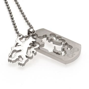 Chelsea Dog Tag & Chain