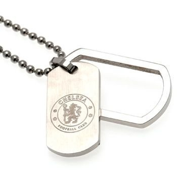 Chelsea Framed Dog Tag & Chain