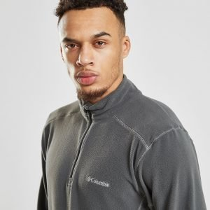 Columbia 1/4 Zip Micro Fleece Top Harmaa