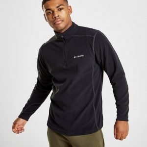 Columbia 1/4 Zip Micro Fleece Top Musta