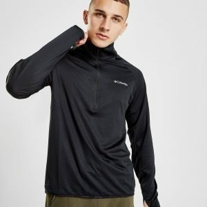 Columbia Mountain Power 1/2 Zip Paita Musta
