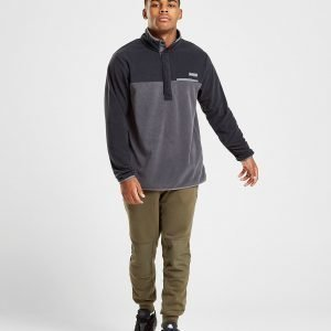 Columbia Mountain Side Poly Fleece 1/4 Zip Paita Musta
