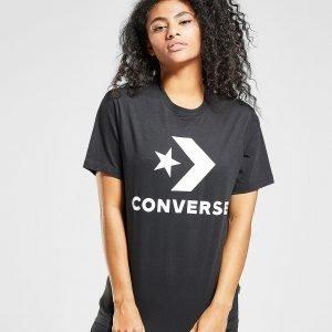 Converse Star Chevron Boyfriend T-Paita Musta