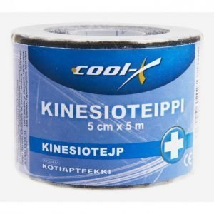 Cool-X Kinesioteippi Musta