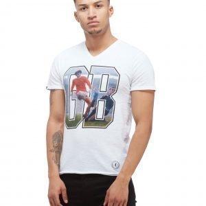 Copa George Best V-Neck T-Shirt Valkoinen
