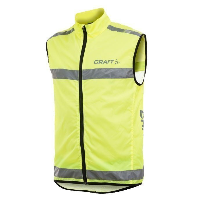 Craft Active Run Safety Vest neon L