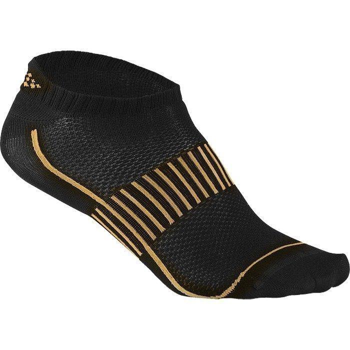 Craft Cool Training 2pack Shaftless Sock flourange/white/black 34/36