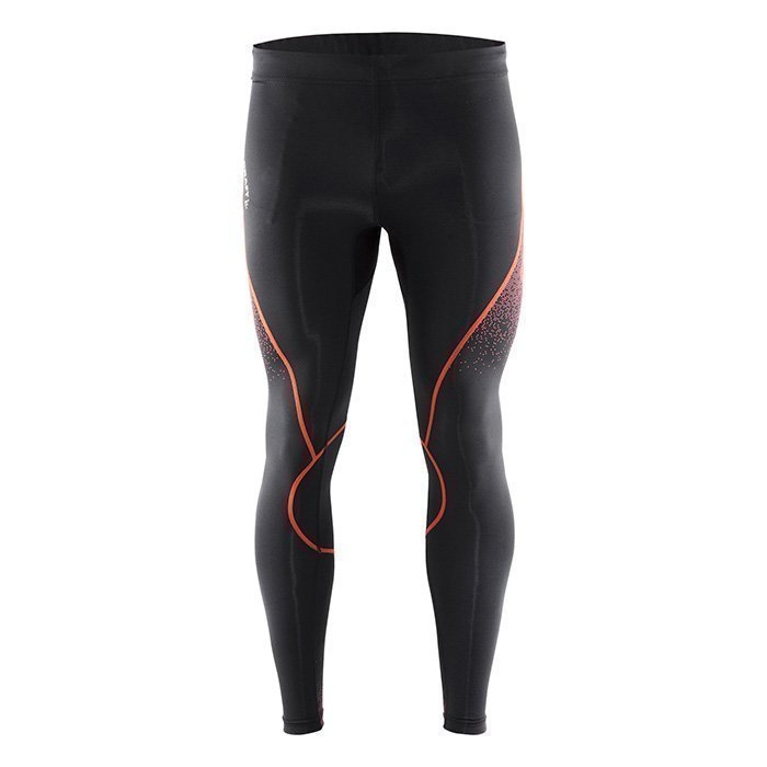 Craft Delta Compression Tights Black/Silver XL