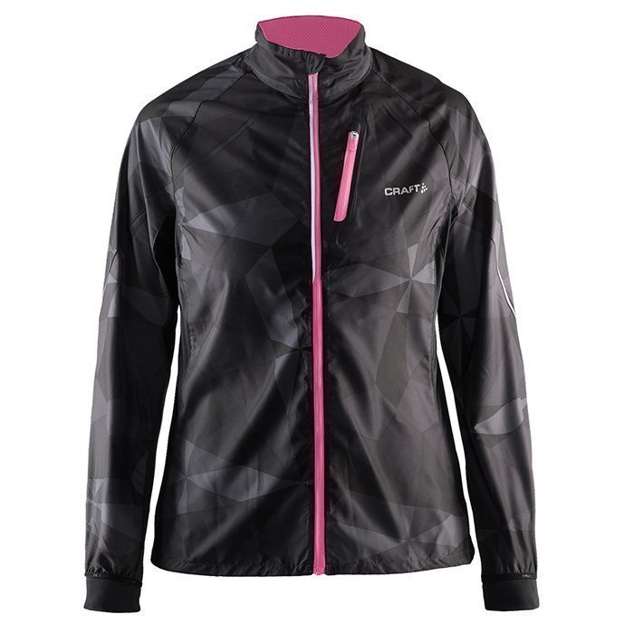 Craft Devotion Jacket Geo Black/Pink