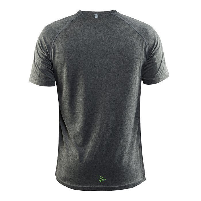 Craft Gain Tee Dark Grey Melange Small