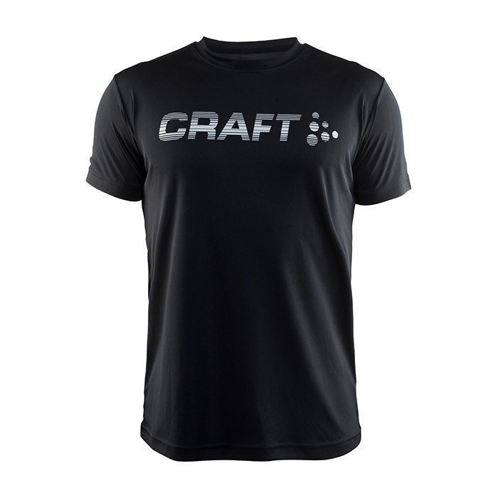 Craft Prime Logo Tee Black XX-large