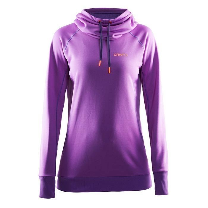 Craft Pure Hoodie W lilac S