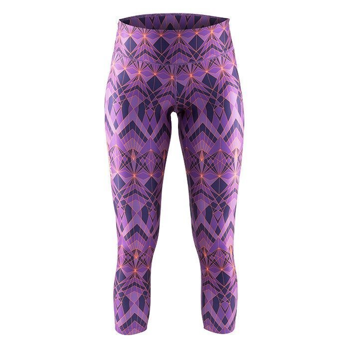Craft Pure Print Tights lilac S