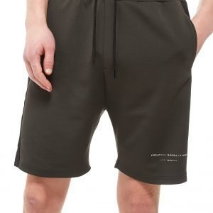 Creative Recreation House Pattern Track Shorts Khaki / Black