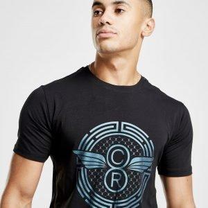 Creative Recreation Pegasus Iridescent T-Shirt Musta