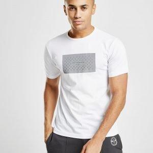 Creative Recreation Reflective Box T-Shirt Valkoinen