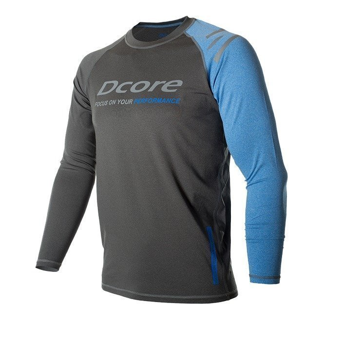 Dcore Asymmetric LS Black/Blue XXL
