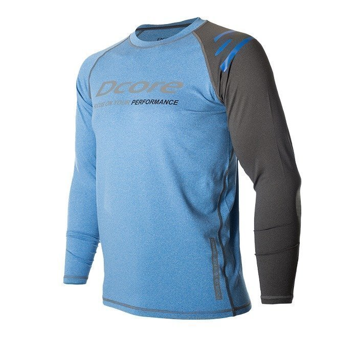 Dcore Asymmetric LS Blue/Black L