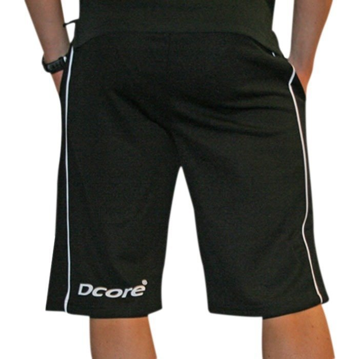 Dcore Comfy mesh shorts black-white XXL