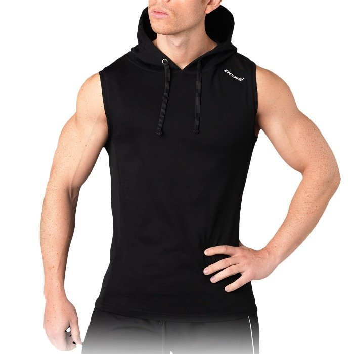 Dcore Hoodsinglet White/Black XL