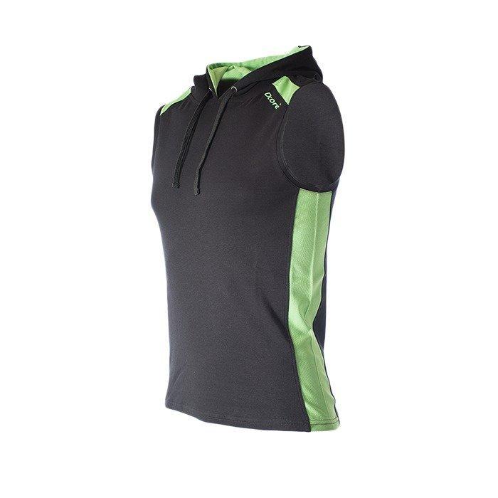 Dcore Hoodsinglet black/green flash M