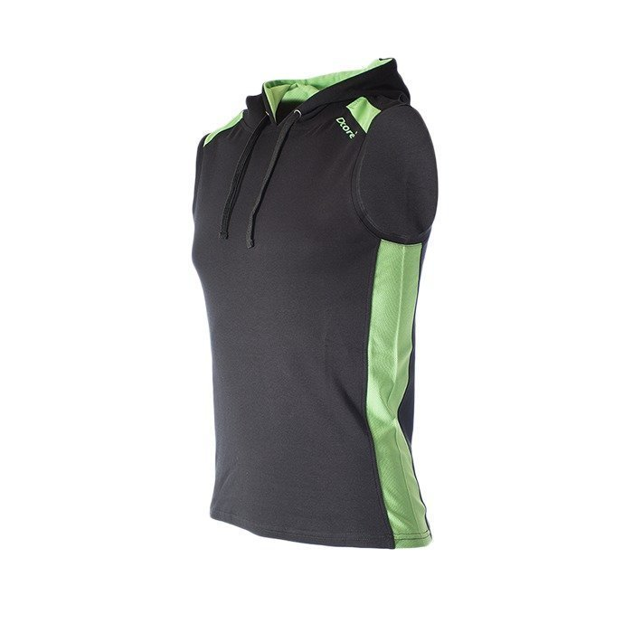 Dcore Hoodsinglet black/green flash XL