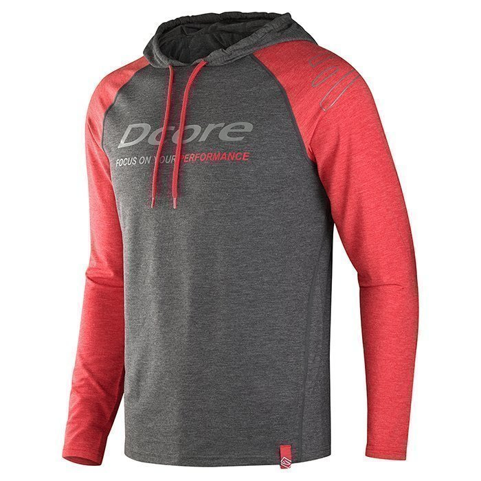 Dcore Original Hoodie Black/Red L