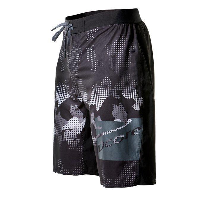 Dcore Pixel Camo Boardshorts Black