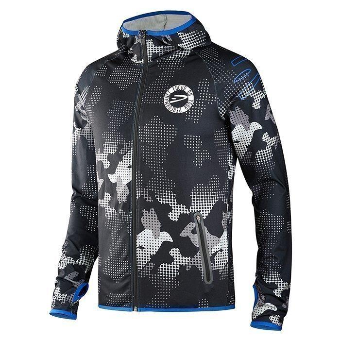 Dcore Pixel Camo Hood Jacket Black