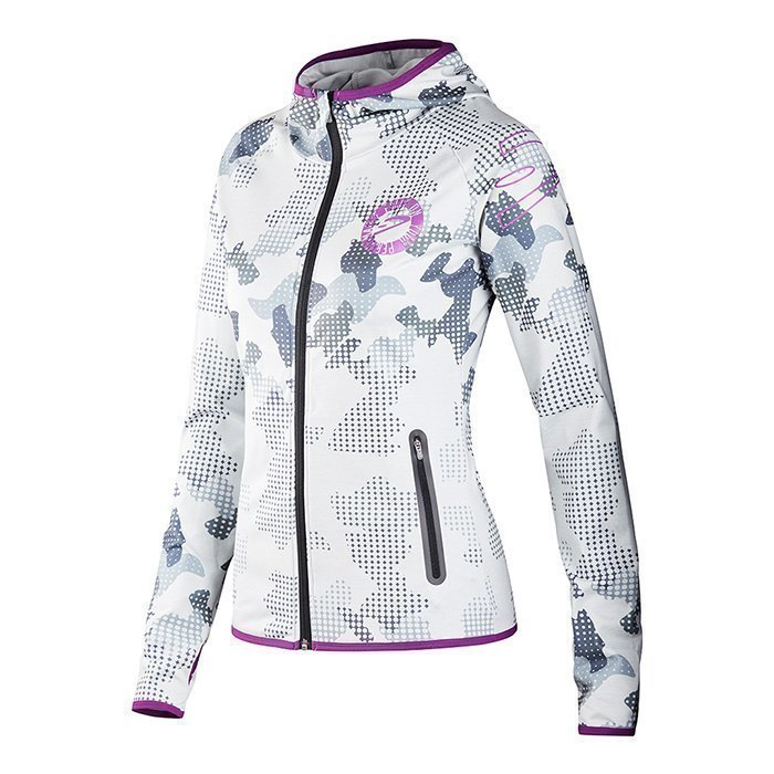 Dcore Pixel Camo Hood Jacket White S