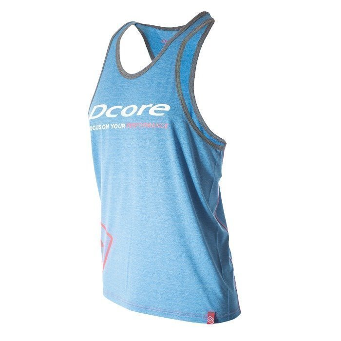Dcore Tag Loose Tank blue/red M
