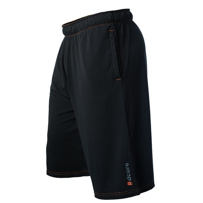 Dcore Tag Shorts Black/Orange XXL