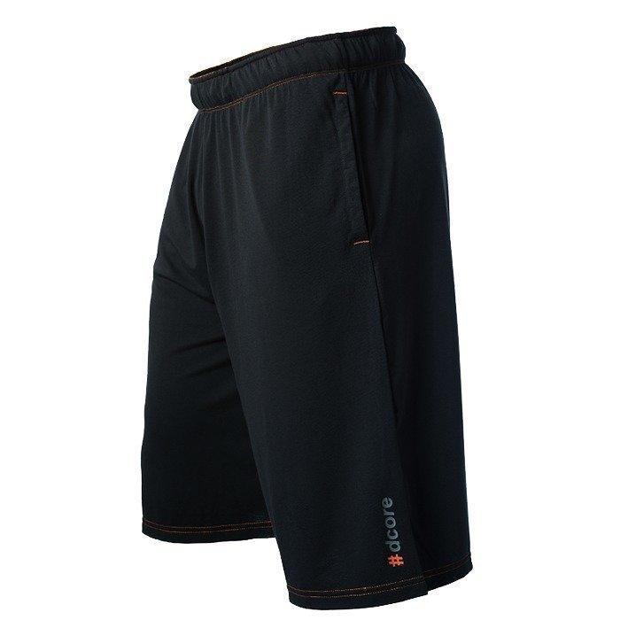Dcore Tag Shorts Black/Orange