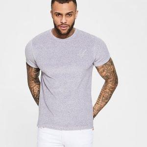 Dead Legacy Toweling T-Shirt Harmaa