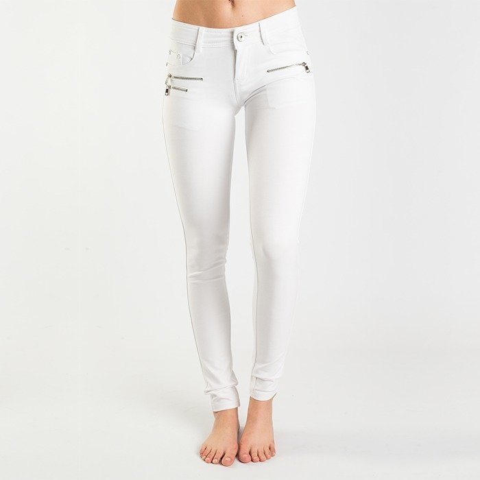 Drome Zipper Pant white