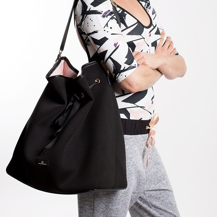 Drop of Mindfulness Central Park Bag Black