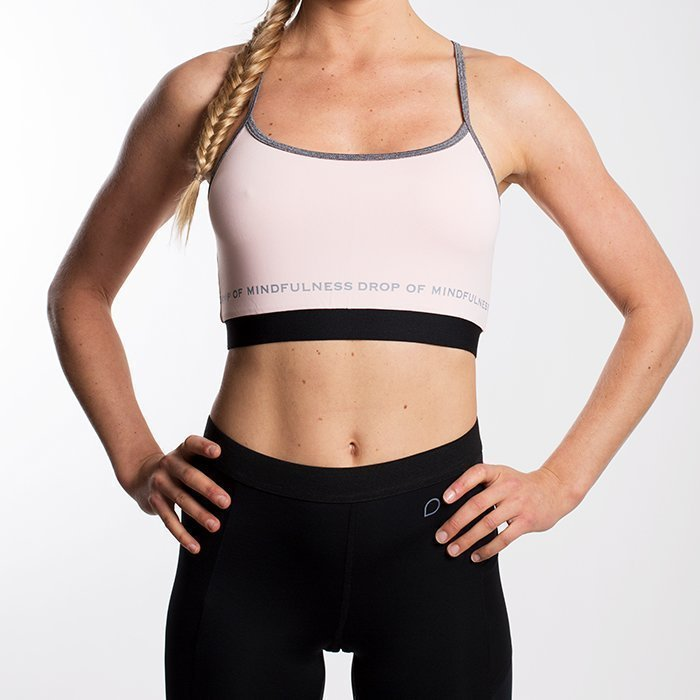 Drop of Mindfulness Freja Sports Bra Pink Small