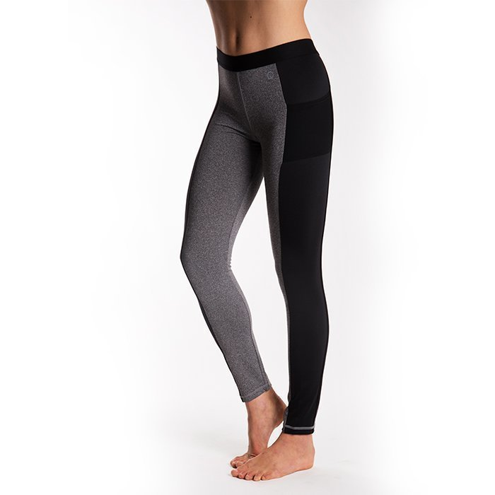 Drop of Mindfulness Grand St Tights Grey Melange Small