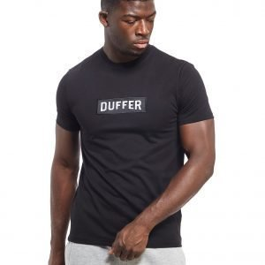 Duffer Of St George Logo T-Shirt Musta