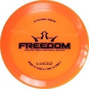 Dynamic Discs Lucid Freedom 160-175 G Draiveri