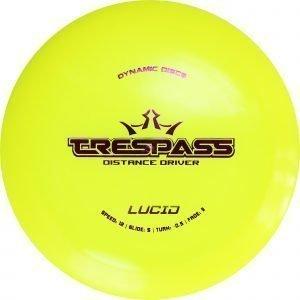 Dynamic Discs Lucid Trespass 160-175 G Draiveri