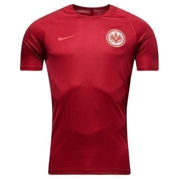 Eintracht Frankfurt Treenipaita Dry Top Squad Viininpunainen