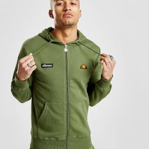 Ellesse Carlint Zip Through Huppari Khaki / Black