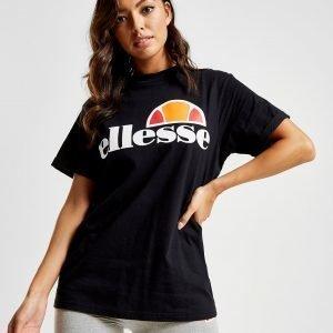 Ellesse Core Boyfriend Logo T-Shirt Musta