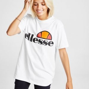 Ellesse Core Boyfriend Logo T-Shirt Valkoinen
