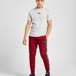 Ellesse Essa Tape Track Pants Burgundy / Black