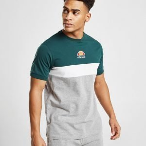 Ellesse Essen Colour Block T-Paita Harmaa