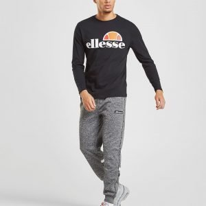 Ellesse Grazie Long Sleeve T-Shirt Musta