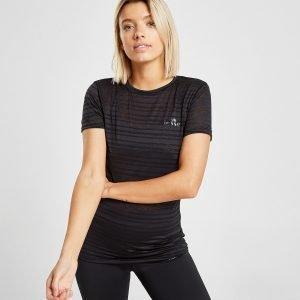 Ellesse Logo Burnout T-Shirt Musta
