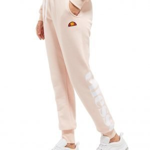 Ellesse Logo Fleece Pants Light Pink
